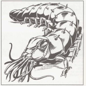 This is still my favorite illustration of the carrion crawler
